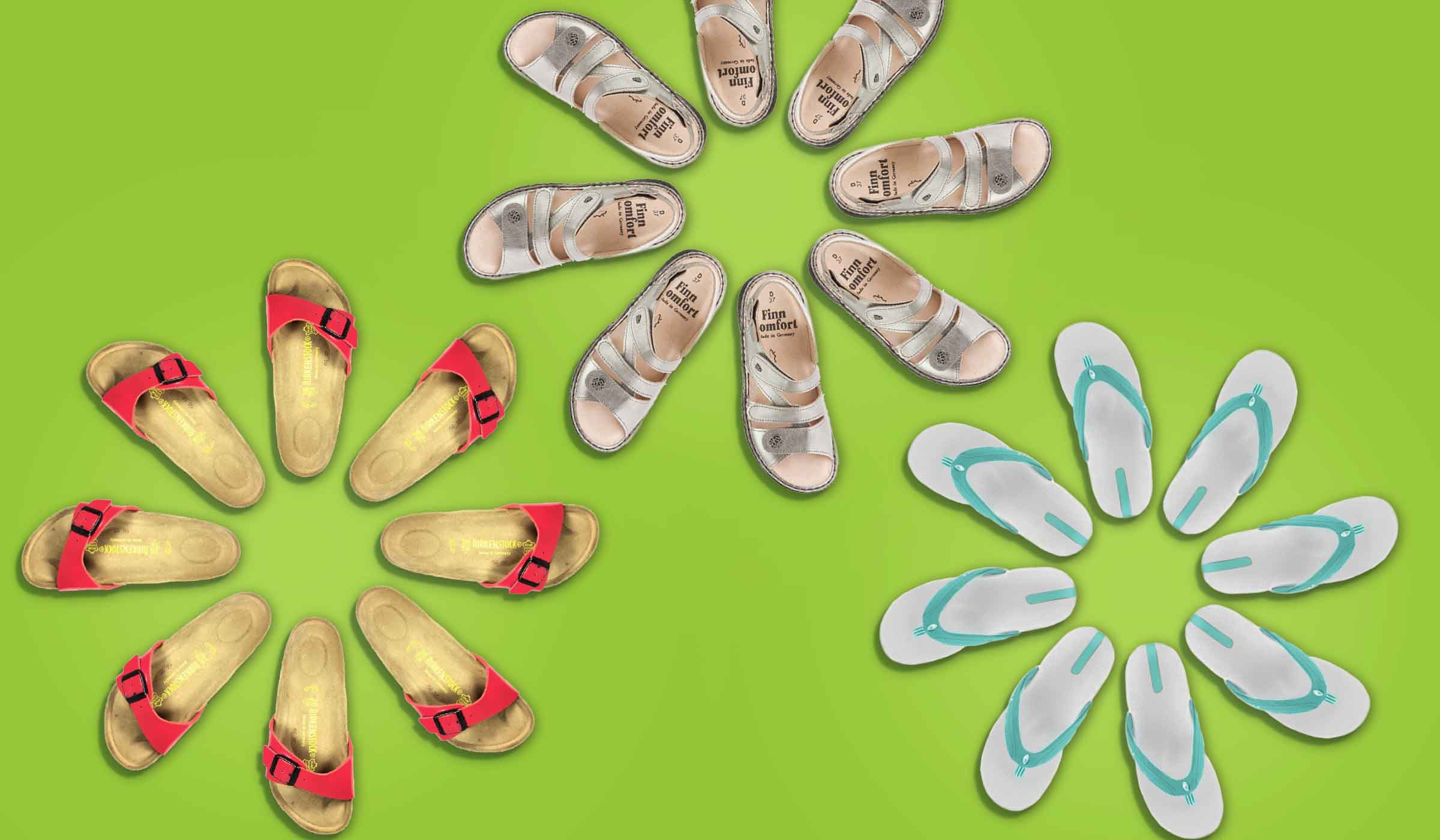Browse Our Summer Sandal Collection Online