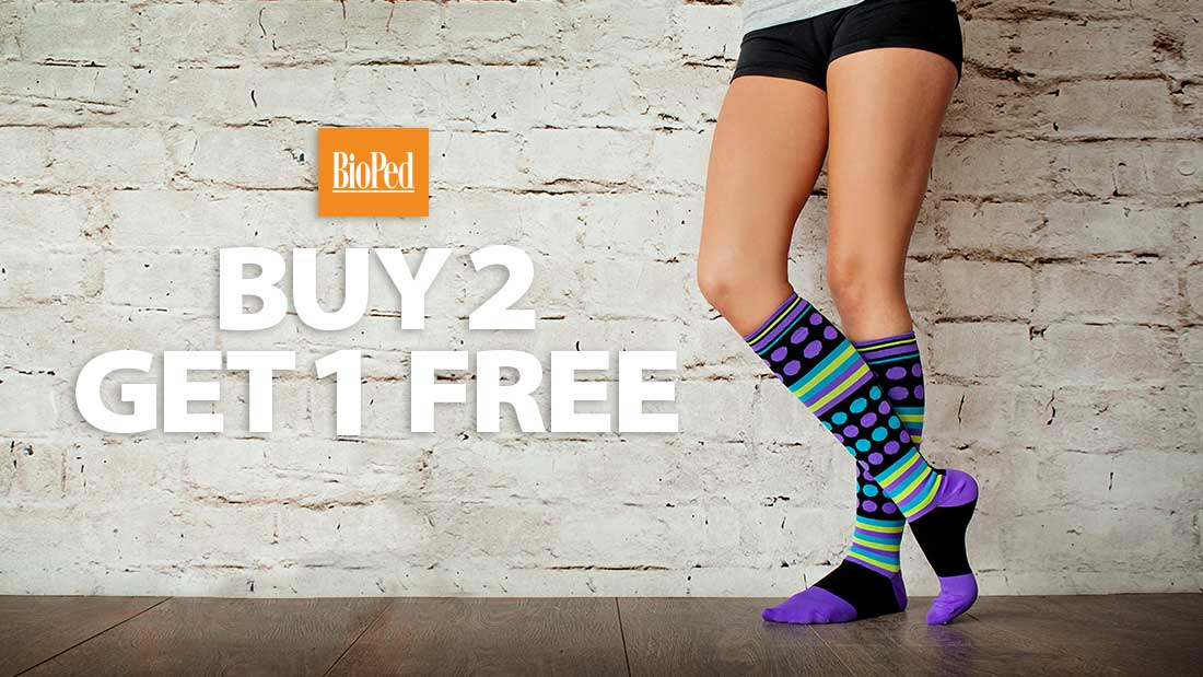 172d2a71d9 01 Dec ***Offer Expired*** Buy Two Pairs, Get One Free on Non-Medical  Compression Socks