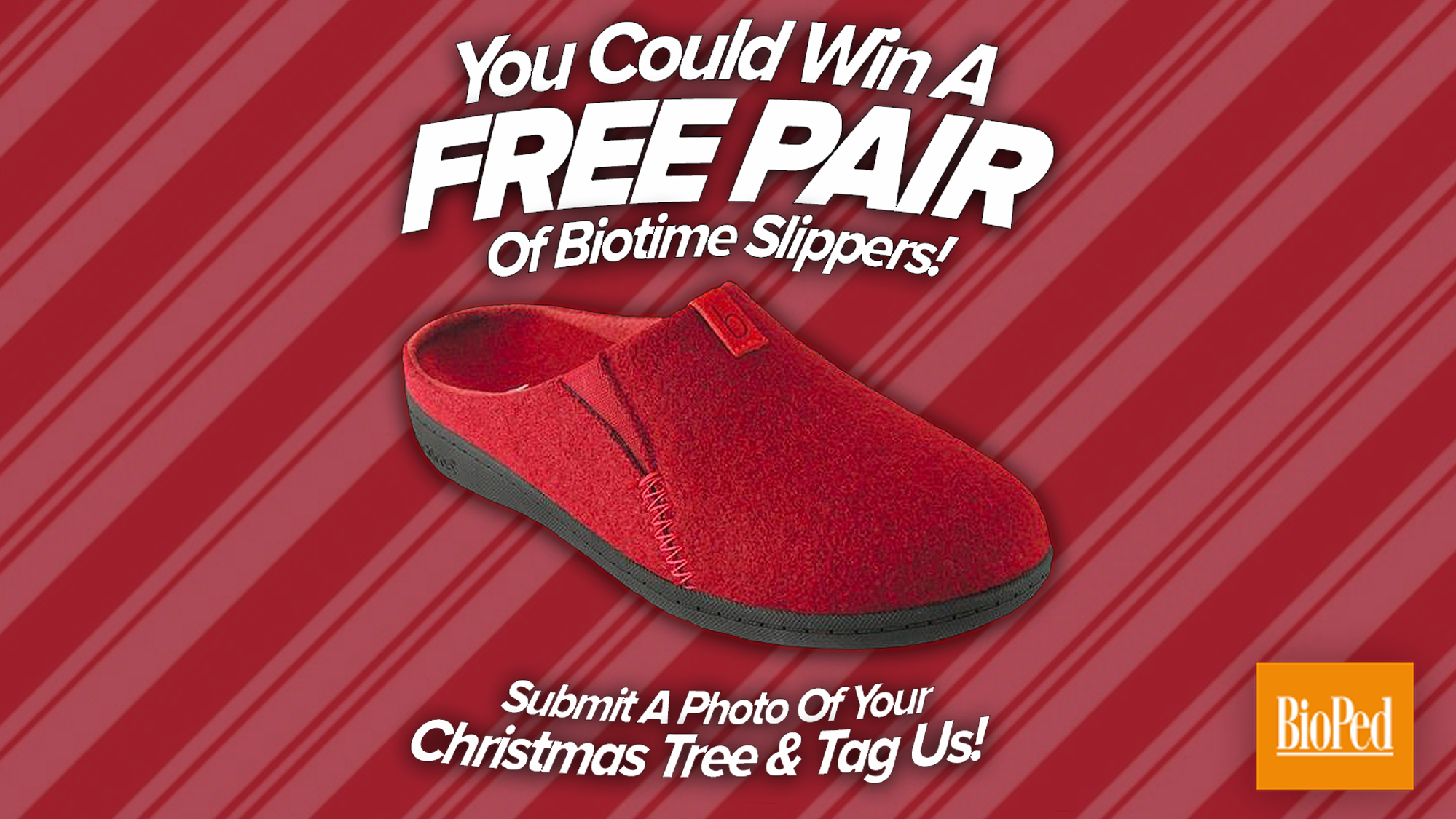 Biotime Emma Slipper Contest Giveaway - BioPed Footcare